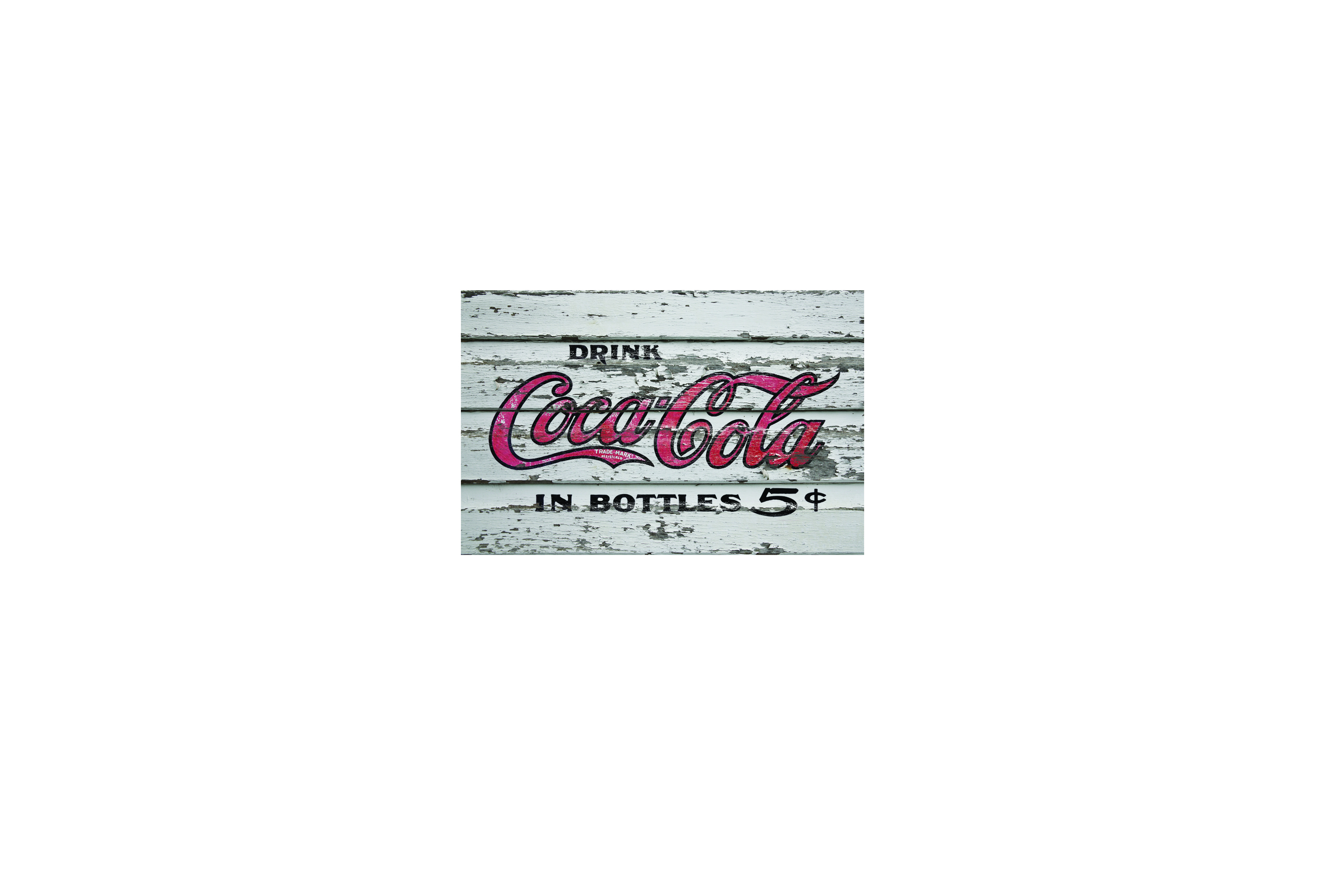 Magnetka - coca cola n5 wood