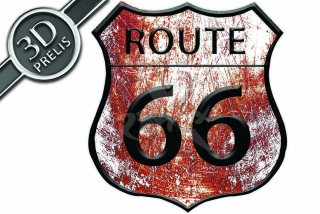 Route 66 rust