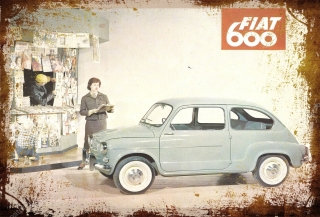 Fiat 600 old
