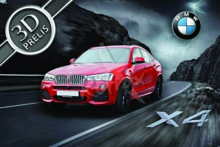 BMW X4 red