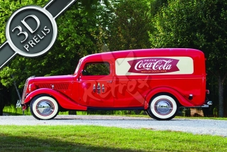 Coca cola red car