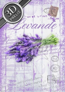 Levande purple post